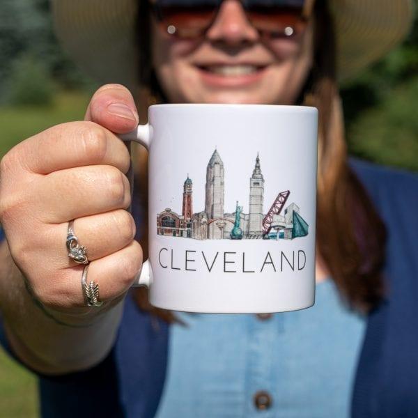 Cleveland Traveler mug