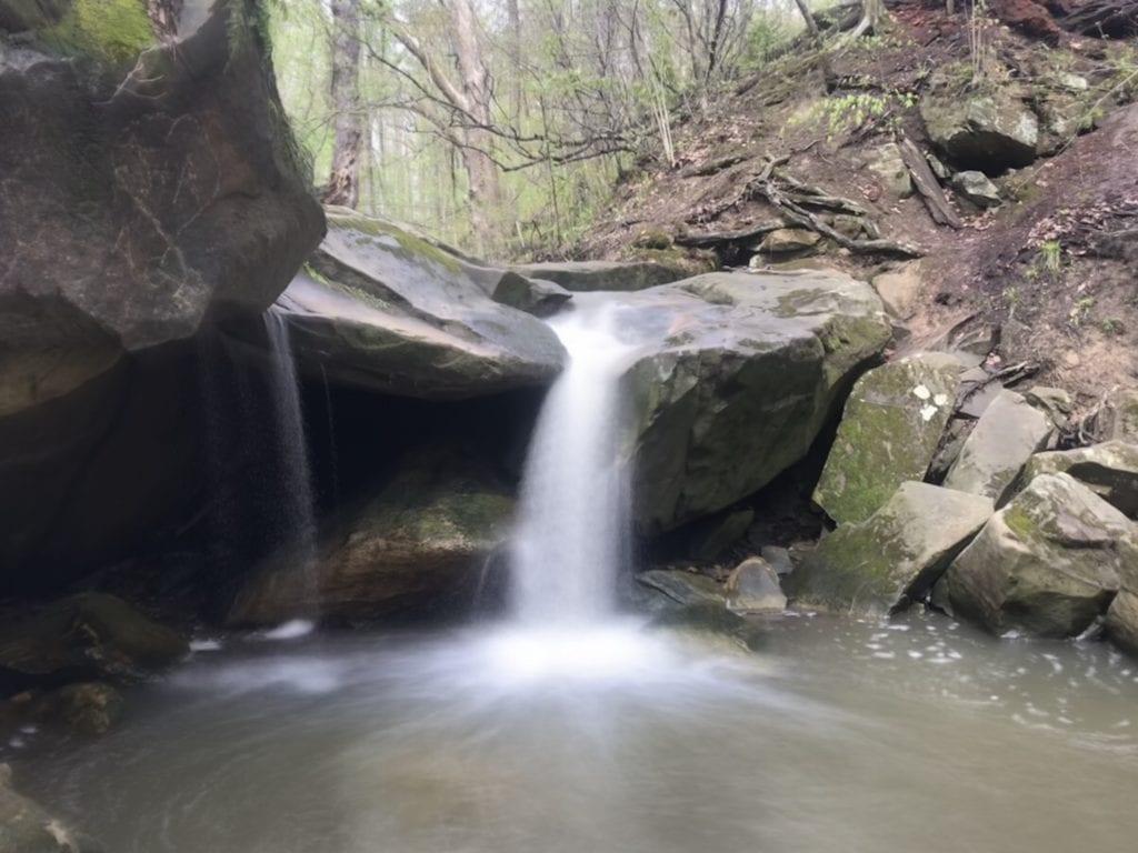 Deer Lick Cave Falls