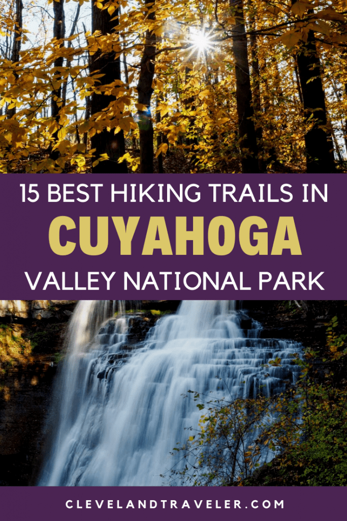 Best hiking trails in Cuyahoga Valley National Park