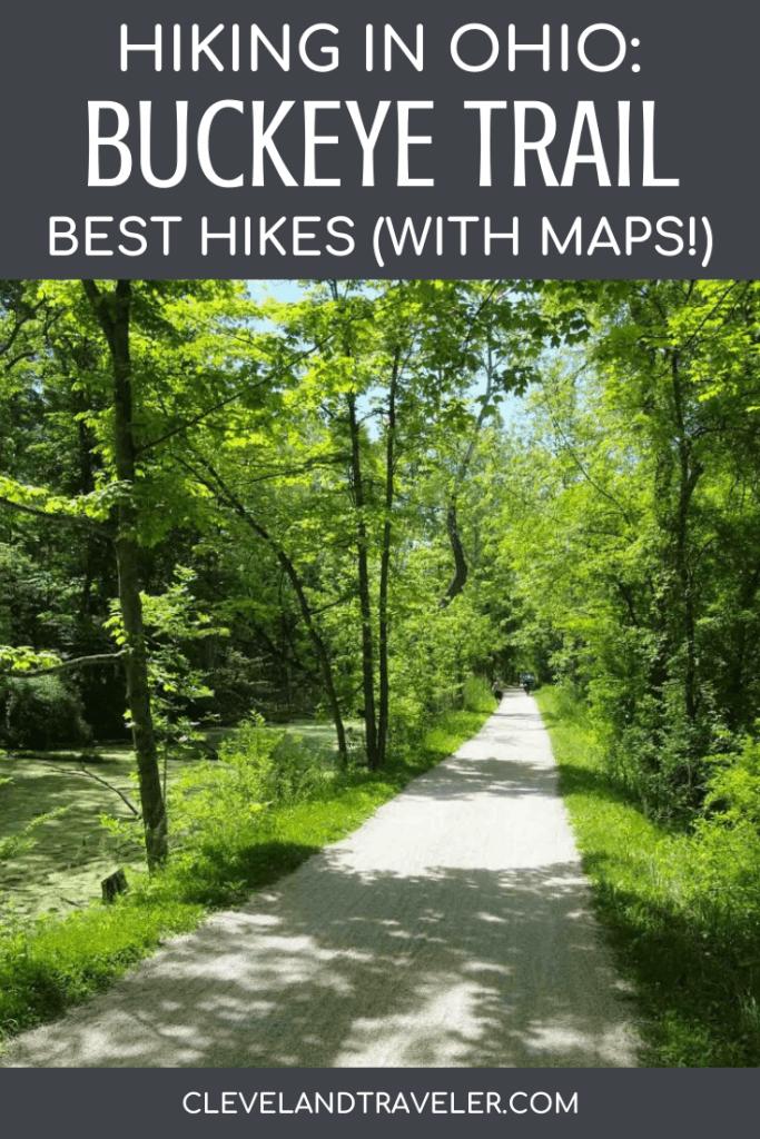 Hiking the Buckeye Trail near Cleveland