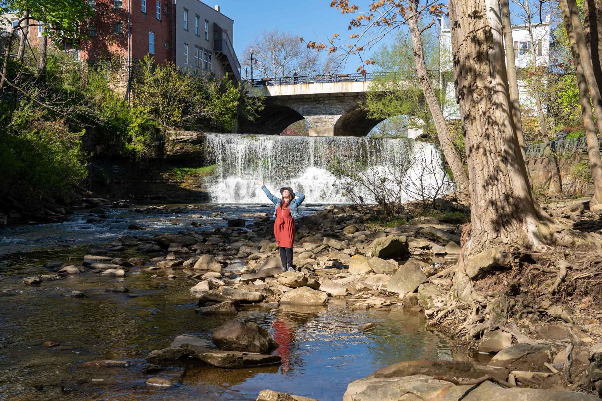 19 Beautiful Waterfalls to Visit Near Cleveland