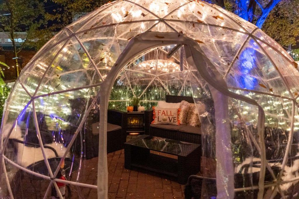 Georgetown winter igloo