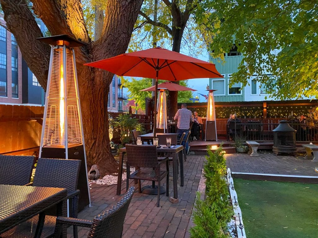 All Saints Public House patio