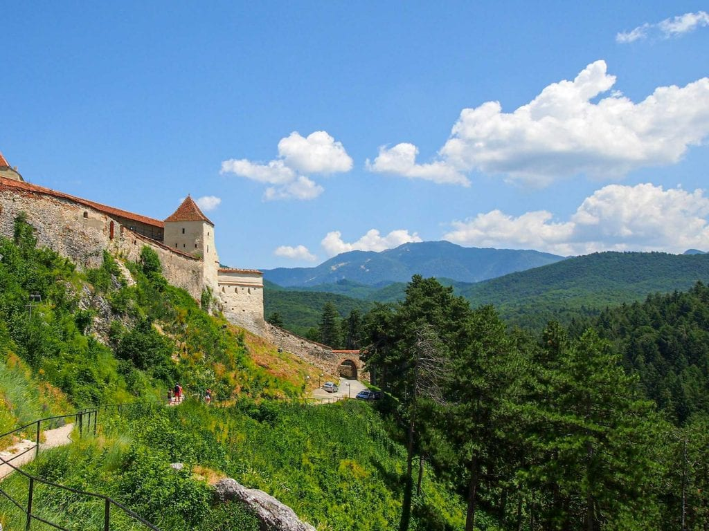 Rasnov Fortress in Romania