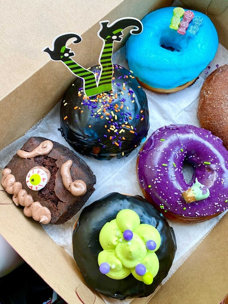 Hocus Pocus-themed donuts