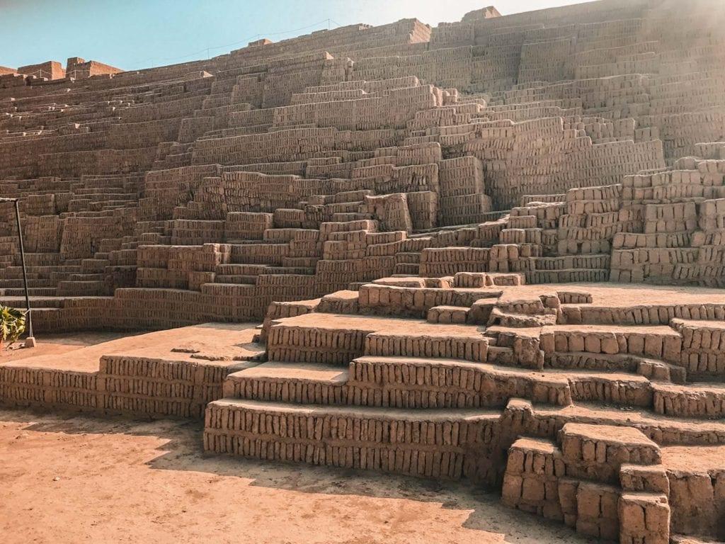 Huaca Pucllana in Peru