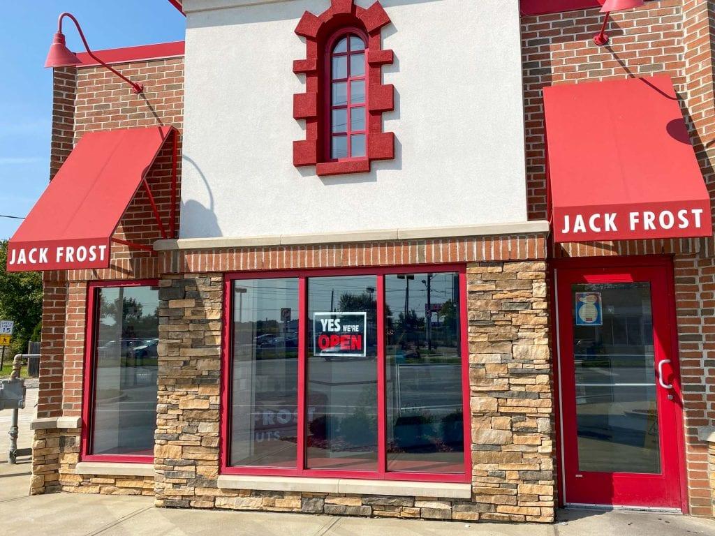 Jack Frost donuts storefront