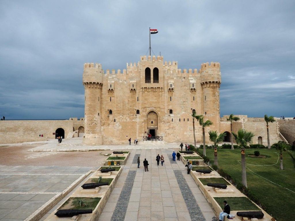 Citadel of Qaitbay in Alexandria