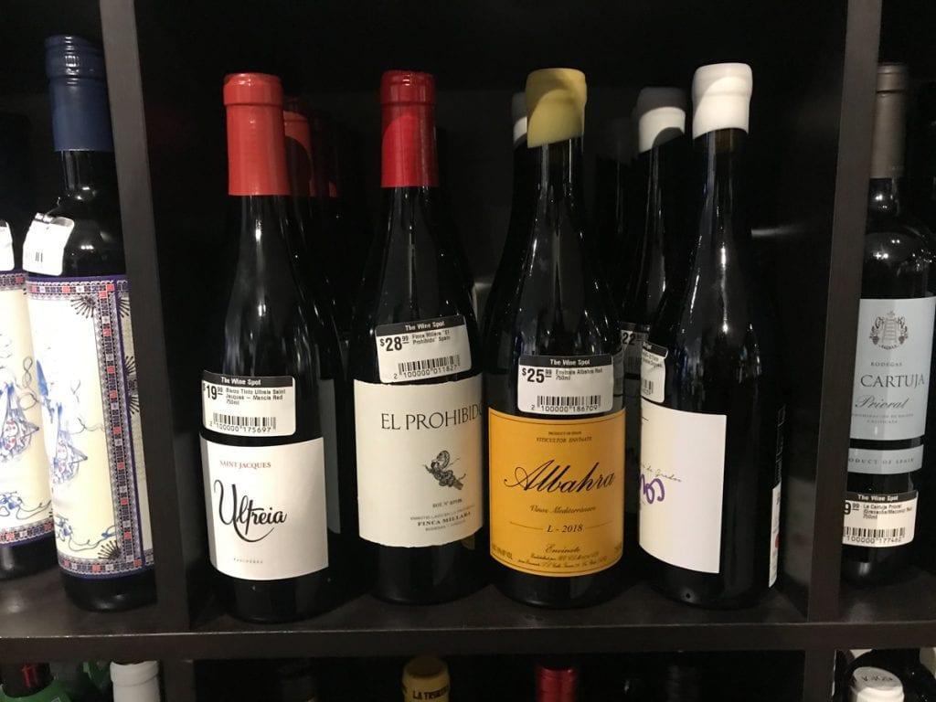 Wine Spot shopping