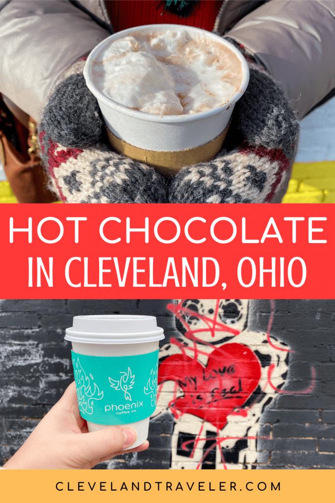 Hot chocolate in Cleveland, Ohio