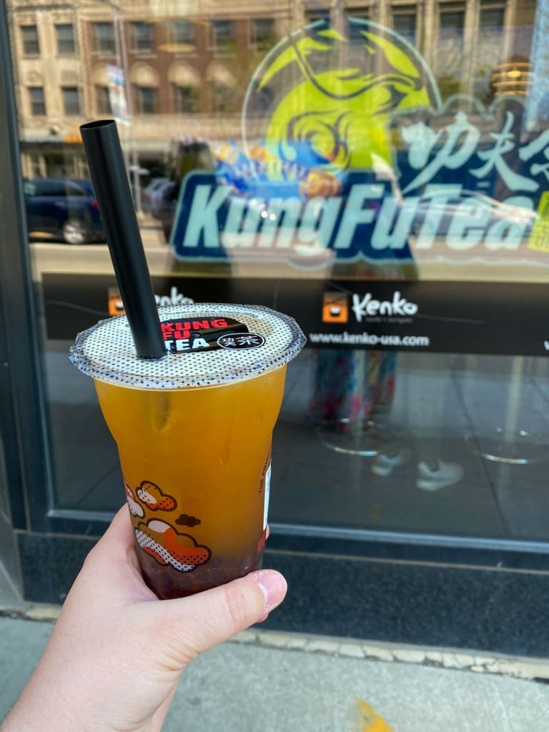 Kung Fu Tea bubble tea